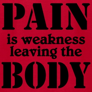 Pain is weakness leaving the Body Tanks - Men's T-Shirt by American Apparel