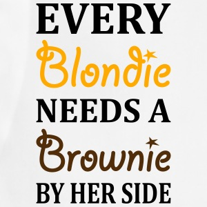 Every Blondie Needs A Brownie Best Friend Women's T-Shirts - Adjustable Apron