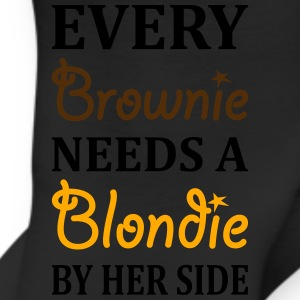 Every Brownie Needs A Blondie Best Friend Women's T-Shirts - Leggings
