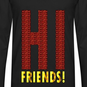 HI FRIENDS Tanks - Men's Premium Long Sleeve T-Shirt