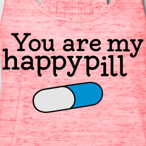 happypill T-Shirts - Women's Flowy Tank Top by Bella