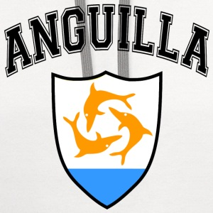 anguilla_caribbean Women's T-Shirts - Contrast Hoodie
