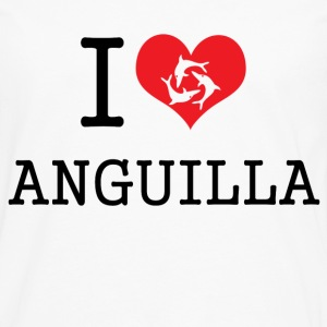 i_heart_anguilla Women's T-Shirts - Men's Premium Long Sleeve T-Shirt