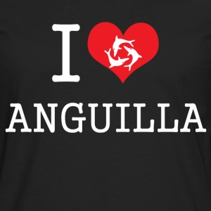 i_heart_anguilla T-Shirts - Men's Premium Long Sleeve T-Shirt