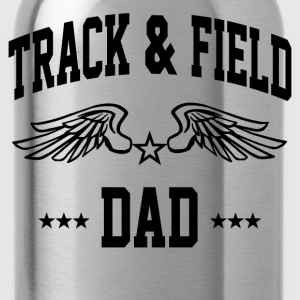 track_and_field_dad T-Shirts - Water Bottle
