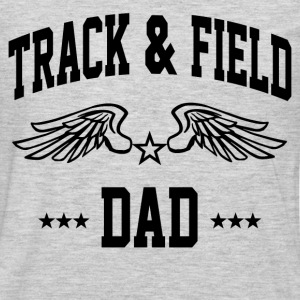 track_and_field_dad T-Shirts - Men's Premium Long Sleeve T-Shirt