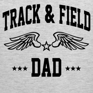 track_and_field_dad T-Shirts - Men's Premium Tank