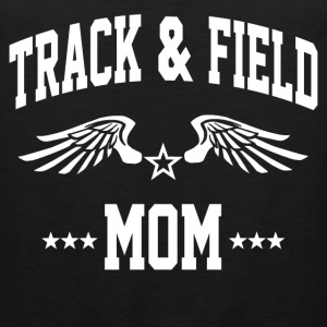 track_and_field_mom Women's T-Shirts - Men's Premium Tank