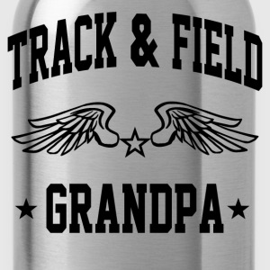track_and_field_grandpa T-Shirts - Water Bottle
