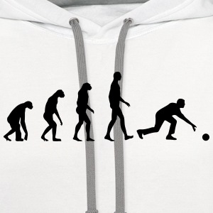 Evolution Bowling T-Shirts - Contrast Hoodie