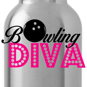 Bowling Diva Women's T-Shirts - Water Bottle