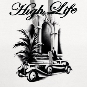 high life T-Shirts - Contrast Hoodie