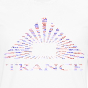 trance pyramid cloud - Men's Premium Long Sleeve T-Shirt