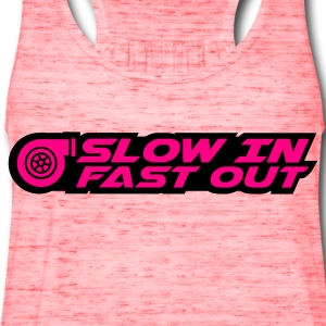 Slow in Fast out  - Women's Flowy Tank Top by Bella
