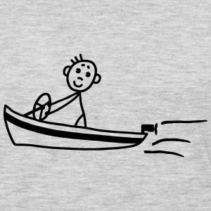 Motor boat - boat Kids' Shirts - Men's Premium Long Sleeve T-Shirt