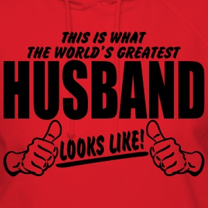 Worlds Greatest Husband Looks Like T-Shirts - Women's Hoodie