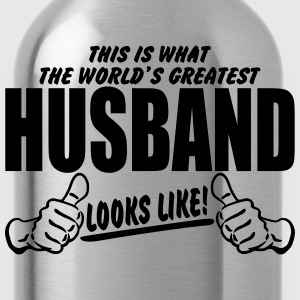 Worlds Greatest Husband Looks Like T-Shirts - Water Bottle