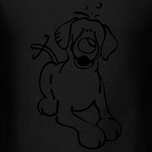 Labrador Retriever - Dog - Lab Bags & backpacks - Men's T-Shirt