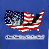 One Nation, Under God T-Shirts - Men's T-Shirt by American Apparel