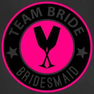 Team Bride Badge - Bridesmaid - Adjustable Apron