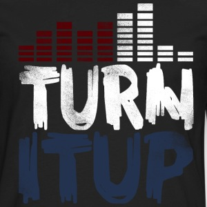 Turn It Up Equalizer II - Men's Premium Long Sleeve T-Shirt