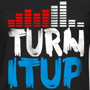 Turn It Up Equalizer III - Men's Premium Long Sleeve T-Shirt