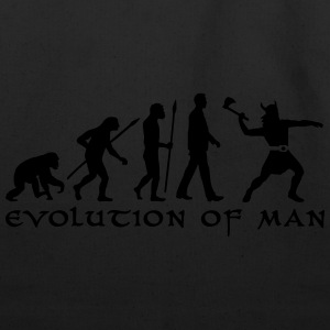 evolution_of_man_viking_a_1c T-Shirts - Eco-Friendly Cotton Tote