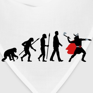 evolution_of_man_viking_a_3c T-Shirts - Bandana