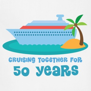 50th Anniversary Cruise T-Shirts - Adjustable Apron