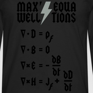 Maxwell's Equations - Heavy Metal Style T-Shirts - Men's Premium Long Sleeve T-Shirt