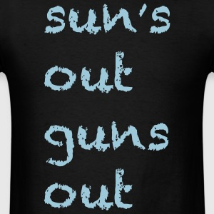 Sun's Out Guns Out - 22 Jump Street Channing Tatum - Men's T-Shirt