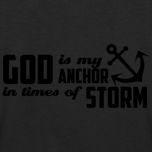 God is my Anchor Hoodies - Men's Premium Tank