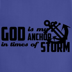 God is my Anchor Polo Shirts - Adjustable Apron