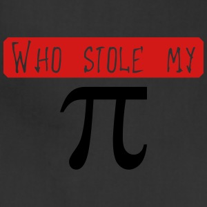 Who stole my Pi (2c) T-Shirts - Adjustable Apron