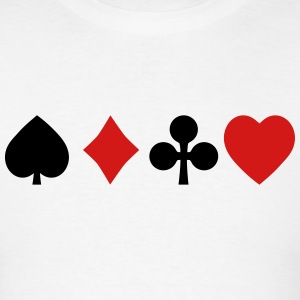 playing cards Hoodies - Men's T-Shirt