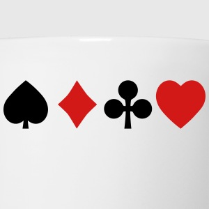playing cards Hoodies - Coffee/Tea Mug