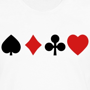 playing cards Hoodies - Men's Premium Long Sleeve T-Shirt