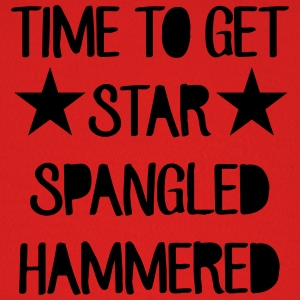 Time To Get Star Spangled Hammered T-Shirts - Baseball Cap