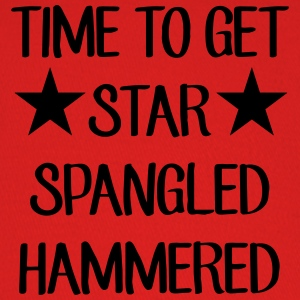 Time To Get Star Spangled Hammered Men - Baseball Cap