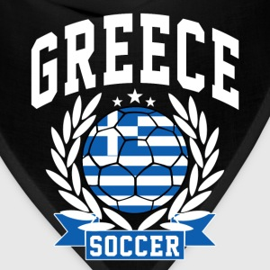greece_soccer T-Shirts - Bandana