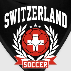 switzerland_soccer T-Shirts - Bandana