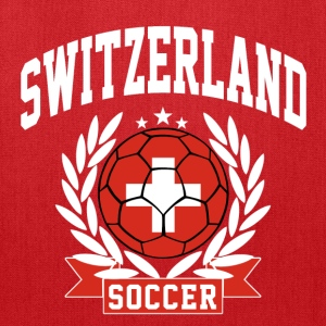 switzerland_soccer T-Shirts - Tote Bag