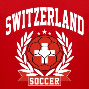 switzerland_soccer T-Shirts - Men's Premium Tank