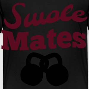 Swole Mates Kids' Shirts - Toddler Premium T-Shirt