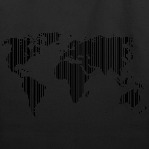 World as a barcode Shirt - Eco-Friendly Cotton Tote