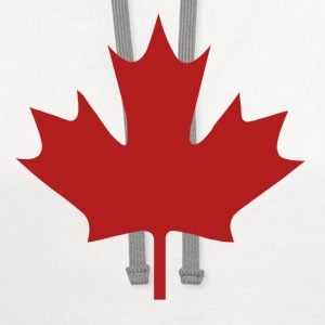 Canada Day - Contrast Hoodie