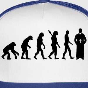 Evolution Priest T-Shirts - Trucker Cap