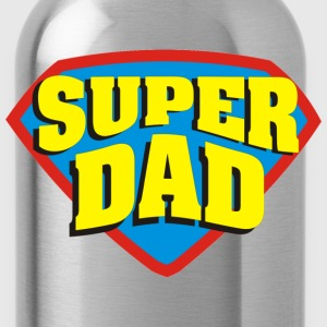 SUPER DAD T-Shirts - Water Bottle