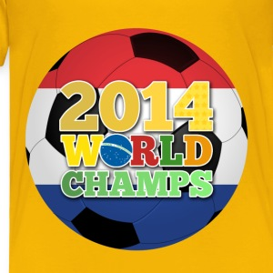 2014 World Champs Ball - Netherlands - Toddler Premium T-Shirt