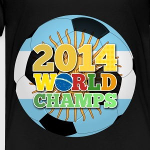 2014 World Champs Ball - Argentina - Toddler Premium T-Shirt